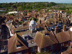 View from St Marys Tower Rye